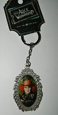NWT LOUNGEFLY Disney ALICE IN WONDERLAND Mad Hatter Key Ring Chain* New