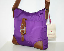 Original AIGNER Tasche Crossover Bag vibrant purple lila *UVP 139,00€
