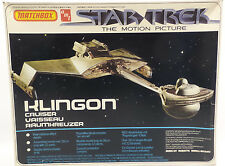 STAR TREK THE MOTION PICTURE : KLINGON CRUISER MODEL KIT MADE BY MATCHBOX (MLFP)