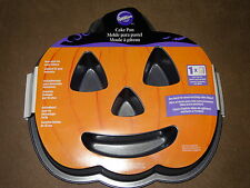 Wilton Halloween Jack-O-Lantern Non-Stick For Easy Release Cake Pan-New