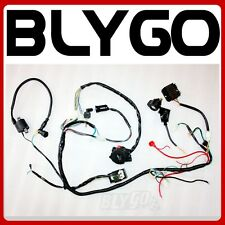 Full Electric Start Engine Wiring Harness Loom GY6 125 150cc Quad Bike ATV Buggy