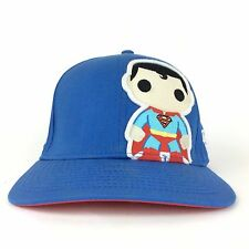 DC Comics Marvel Superman POP Heroes BlueBbaseball Cap Hat Adj Fits Most Cotton