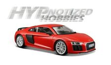 MAISTO 1:24 SPECIAL EDITION  AUDI R8 V10 PLUS DIECAST RED 31513RD