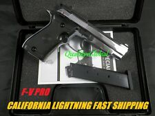 PREMIUM FLIM PRODUCTION F-V CHROME METAL SP99 REPLICA 84FS MOVIE PROP Pistol Gun