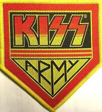 "KISS ricamate/Patch # 34 ""Kiss Army"""