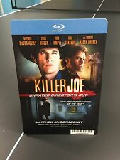 "Movie Backer Card ""Killer Joe"" Bluray (No Movie) *Mini Poster*"