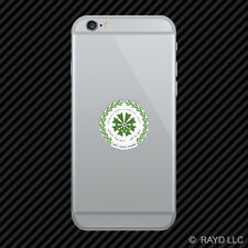 Comoran Seal Cell Phone Sticker Mobile Comoros flag COM KM