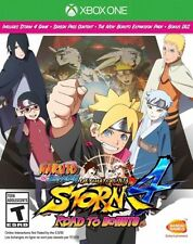 Xbox One 1 Naruto Shippuden Ultimate Ninja Storm 4 Road to Boruto NEW Sealed