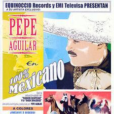 FREE US SH (int'l sh=$0-$3) NEW CD Aguilar, Pepe: 100% Mexicano
