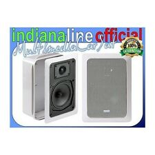 Indiana Line Tesi SQ 205 Diffusori Incasso Home Theatre Casa Cinema 2 Vie COPPIA