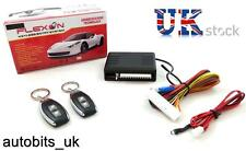 UNIVERSAL CAR REMOTE CENTRAL LOCKING UPGRADE KIT+ WINDOW ROLL UP TRUNK RELEASE
