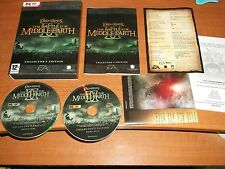 THE LORD OF THE RINGS THE BATTLE FOR MIDDLE EARTH II 2 COLLECTORS EDITION PC-DVD
