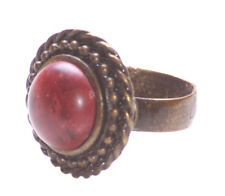 Highland Queen Sublime Cherry Red Stone /one Size Fits All Hand Ring(Zx193/224)