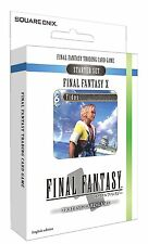 Final Fantasy Trading Card Game-final Fantasy X 10 Starter Set (nuevo)