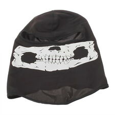 Skull Balaclava Traditional Face Head Mask Gator Black NWT FU0