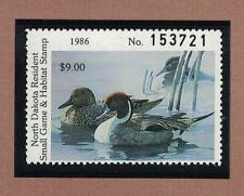 ND5 - North Dakota State Duck Stamp. Single. MNH. OG.