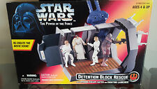 Star Wars de detención, escape de acción conjunto 1996 ahora obsoletos! Ideal Regalo