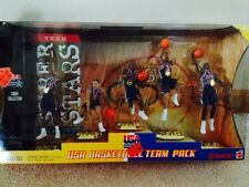 2000 Mattel USA Basketball Team Pack NIB Carter, Kidd, Houston, Duncan, Garnett