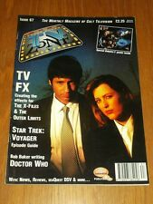 TV ZONE #67 BRITISH MONTHLY MAGAZINE TV FX STAR TREK VOYAGER DOCTOR WHO ^