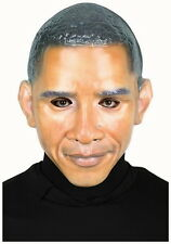 REALISTIC MR.  PRESIDENT MASK BARACK OBAMA HALLOWEEN COSTUME ADULT