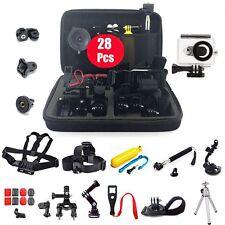 Accessories Bundles Set Kit Waterproof Case Chest/Head/Wrist Strap for Xiaomi Yi