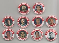 LIVERPOOL FC LEGENDS  FRIDGE MAGNETS X10  SET 4