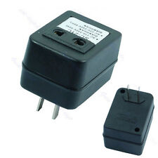 Step Up Voltage Converter Adapter 110V US to 220V US EU Black