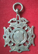 Vintage Silver Fob Medal - Rowing / Sculling h/m 1919 William Hair Haseler