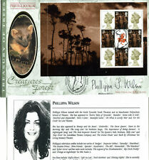 18 SEPTEMBER 2000 A TREASURY OF TREES BENHAM SIGNED BY PHILLIPPA WILSON FDC SHS