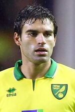Football Photo JAVIER GARRIDO Norwich City 2012-2013