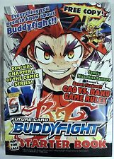 Buddyfight CCG Card Intro Deck, DVD, Info Book and Promo Card Lot