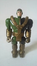 FIGURINE GI JOE STAR BRIGADE - ARMOR BOT DRIVER GENERAL HAWK - HASBRO 1992