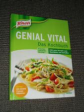 """Großes, original """"Knorr""""- Rezeptbuch """"Genial Vital"""", 400 neue Rezepte"""