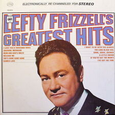 """12"""" Lefty Frizzell Lefty Frizzell`s Greatest Hits (Always Late) 60`s Columbia"""