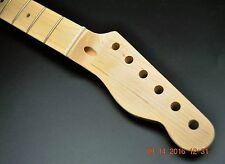 New Canadian Maple Guitar Neck Fits Telecaster 21 Fret Maple Fretboard