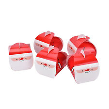 5PCS Xmas Party Favor Gifts Biscuits Muffin Cake Packing Box With Handle HK