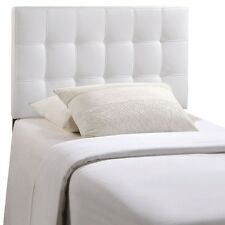 LexMod Countess Twin Vinyl Headboard Category Bedroom Color White MOD-5149-WHI