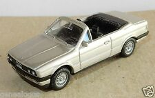 MICRO WIKING HO 1/87 BMW 325 I CABRIOLET GRIS CLAIR METAL