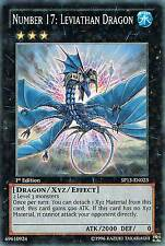SP13-EN023 NUMBER 17: LEVIATHAN DRAGON Star yugioh