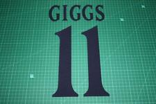 Manchester United 99/00 #11 GIGGS UEFA Chaimpons League Awaykit Nameset Printing