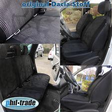 Sitzbezüge Duster Phase II ab 2013  10tlg 5 Sitze 60/40 original Stoff Lauréate