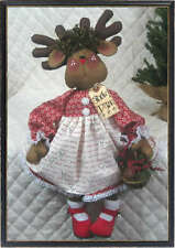 "~Primitive Raggedy 21""~""ROXY REINDEER""~PATTERN #231~from Ginger Creek Crossing"