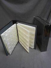Vintage Slide Storage Book Binder Case With Sheets