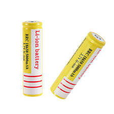 Li-ion Rechargeable 18650 3.7V 5000mAh Li-ion Battery for Led Flashlight BY