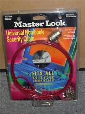 Master Lock Universal Notebook Lap Top Computer  Security Cable W/Keys 64030 NEW