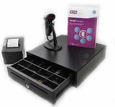 MYOB Retail Manager ver 12.5 with support , Scanner. Printer Cash Drawer. New.