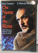 The Name of the Rose (DVD 2004)RARE SEAN CONNERY 1986 HORROR THRILLER BRAND NEW