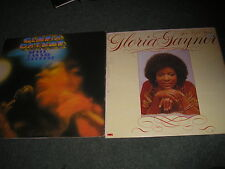 LOT OF 2 GLORIA GAYNOR LP'S-NEVER CAN SAY GOODBYE & I'VE GOT YOU