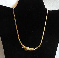 AVON Fashion Jewelry gold tone RHINESTONE NECKLACE BRACELET SET evening bridal