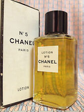 Vintage RARE 1950-60s !! Chanel No 5 LOTION 2 oz 60 ml Sealed Boxed OLD FORMULA